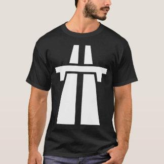 Freeway, Motorway, Autobahn - White T-Shirt