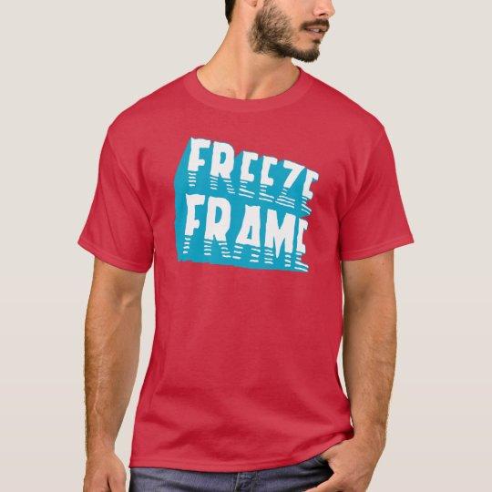 Freeze Frame Retro Graphic Pop Culture T-Shirt
