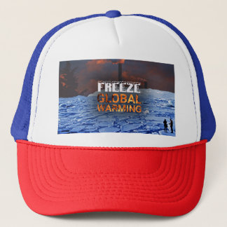Freeze Global Warming Hat