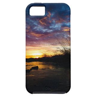 Freezing Sunrise in Germany Tough iPhone 5 Case