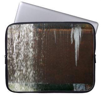 Freezing Water Laptop Sleeve