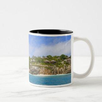 Fregate Island Resort (PR) Two-Tone Mug