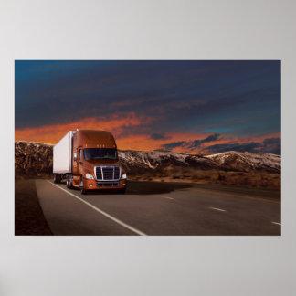 Freightliner Cascadia #20 Poster