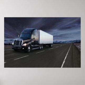 Freightliner Cascadia #21 Poster