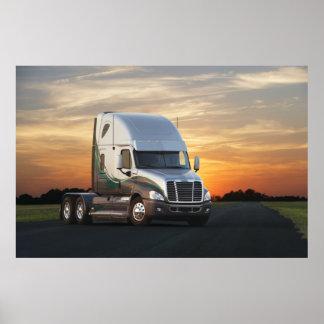 Freightliner Cascadia #27 Poster