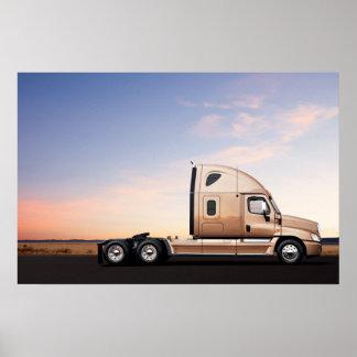 Freightliner Cascadia #8 Poster