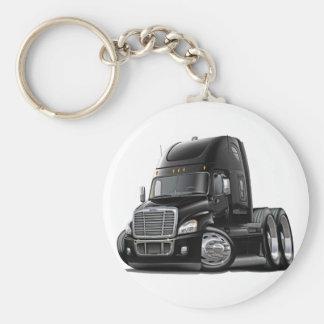 Freightliner Cascadia Black Truck Key Ring