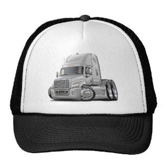 Freightliner Cascadia White Truck Cap