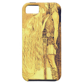 Freja and Svipdag by John Bauer iPhone 5 Case