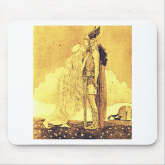 Freja and Svipdag by John Bauer Mouse Pad