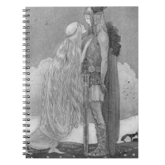 Freja and Svipdag by John Bauer Notebooks