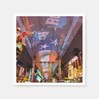 Fremont Street Experience Disposable Napkins