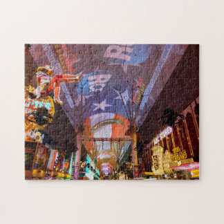 Fremont Street Experience Jigsaw Puzzle