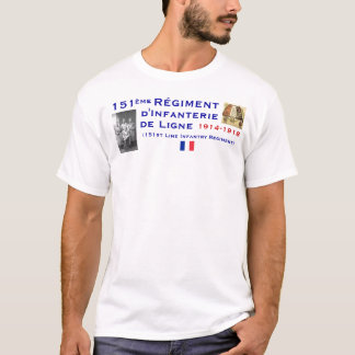 French 151st Infantry T-Shirt
