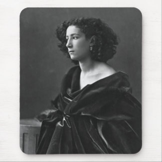 French Actress Sarah Bernhardt by Félix Nadar 1864 Mouse Pad