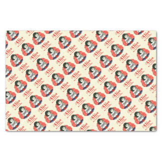 French Alice Book Cover Tissue Paper