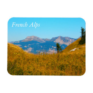 French Alps Magnet