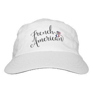 French American Entwined Hearts Cap Hat