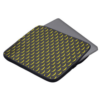 French Angelfish Scales Laptop Sleeve