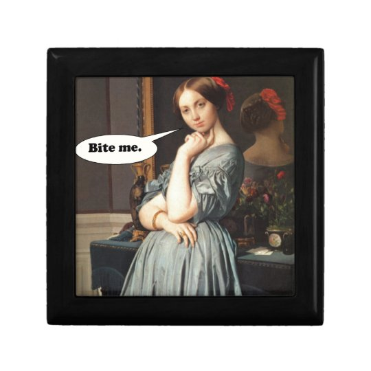 French Aristocrat Says: Bite Me Gift Box