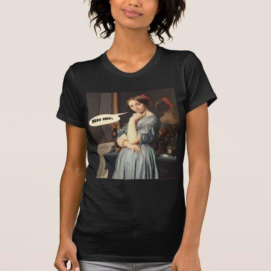 French Aristocrat Says: Bite Me T-Shirt