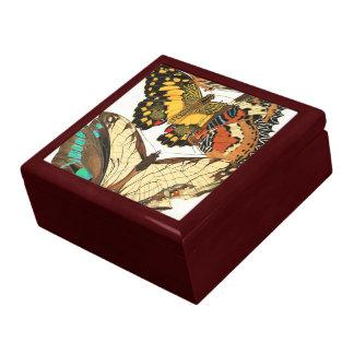 French Art Nouveau Butterflies Gift Box