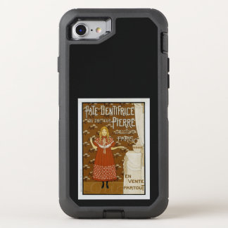 French Art Nouveau Toothpaste Ad OtterBox Defender iPhone 8/7 Case