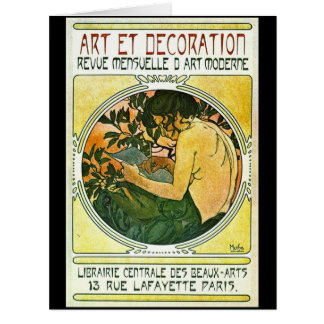 French Art Show Promo 1901 Card