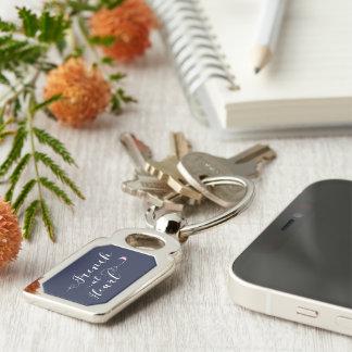 French At Heart Keyring, France Key Ring