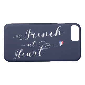 French At Heart Mobile Phone Case