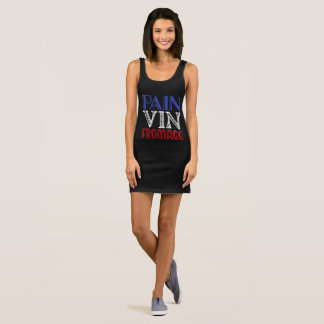 French Basics - Pain Vin Fromage Sleeveless Dress