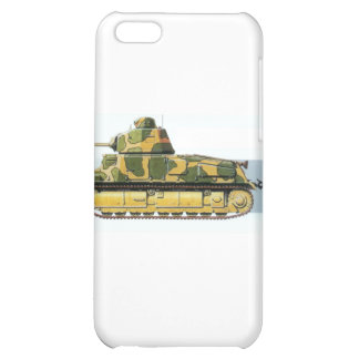 FRENCH BATTLE TANK CASE FOR iPhone 5C