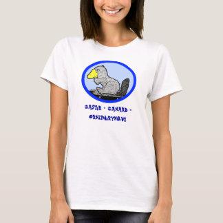French - Beaver + Duck = Platypus T-Shirt