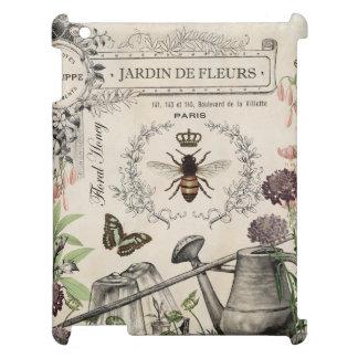 FRENCH BEE GARDEN iPad CASE