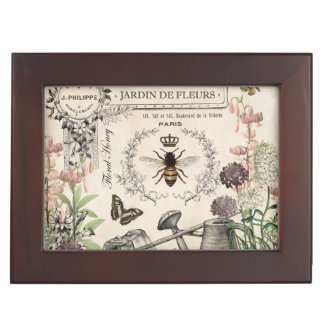 FRENCH BEE GARDEN MEMORY BOXES