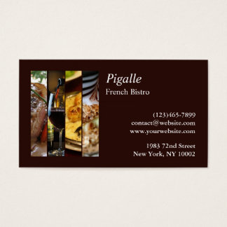 French Bistro Business Card