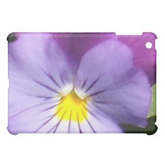 French Blue Purple Pansy Cover For The iPad Mini