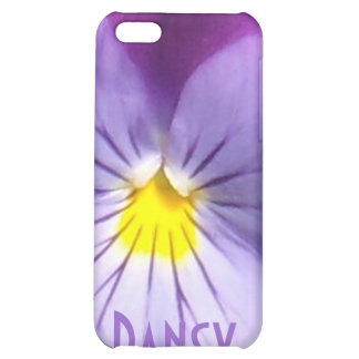 French Blue Purple Pansy iPhone 5C Covers