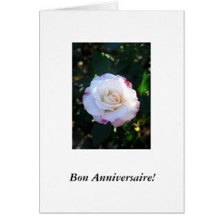 French-Bon Anniversaire! Card