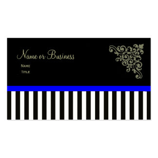 French Boutique ~ Business Cards Blue