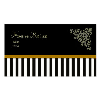 French Boutique ~ Business Cards Gold