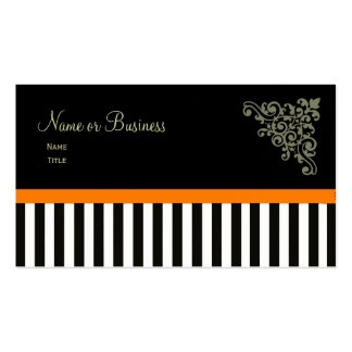 French Boutique ~ Business Cards Orange