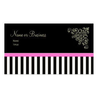 French Boutique ~ Business Cards Pink