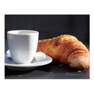 french breakfast 2 postcard