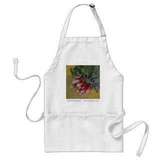 French Breakfast canvas apron
