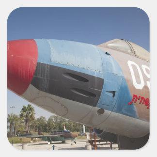 French-built Vautour bomber Square Sticker