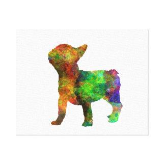 French Bulldog 01-3 Canvas Print