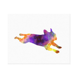 French Bulldog 03-2 Canvas Print