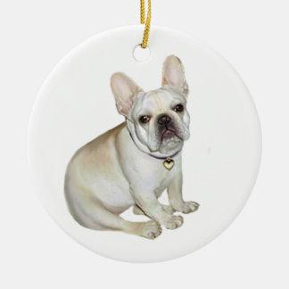 French Bulldog (A) Ceramic Ornament