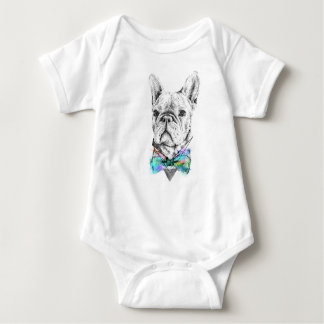french bulldog baby onsie baby bodysuit